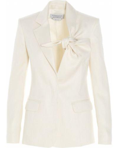 Biały płaszcz Gabriela Hearst