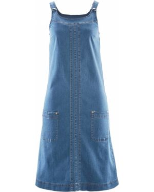 Платье мини миди джинсовое Bonprix