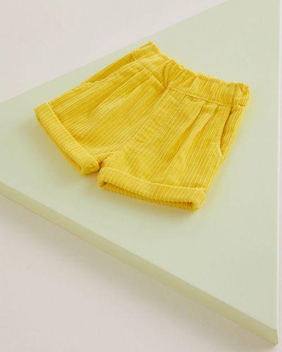 Шорты желтый Mango Kids