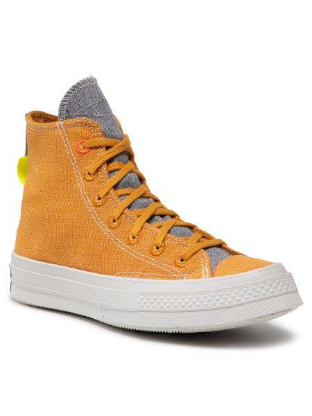 Sneakersy - żółte Converse