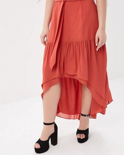 Красная юбка Lost Ink Plus