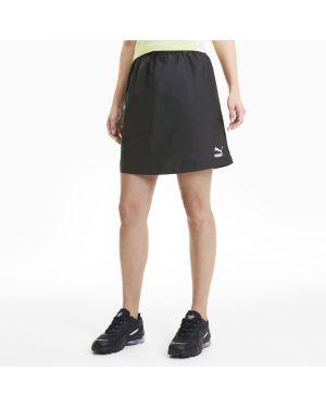 Черное спортивное платье эластичное Puma
