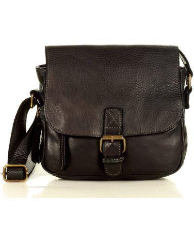 Czarna torebka elegancka Mazzini