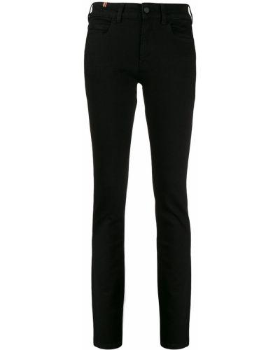 Джинсовые зауженные джинсы - черные Notify