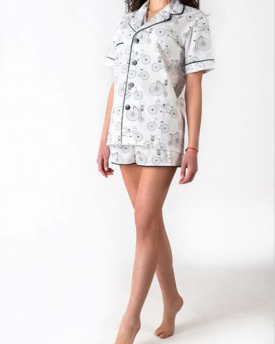 Пижама белая пижамный Jungle