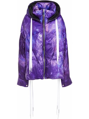 Fioletowa kurtka pikowana Khrisjoy