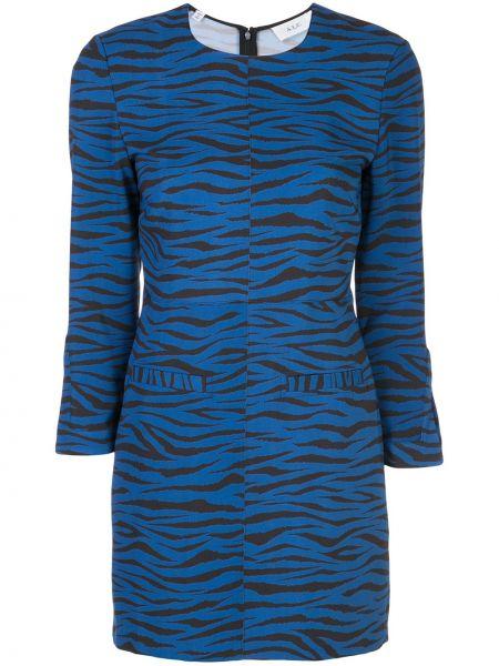 Платье макси с длинными рукавами с карманами Alc