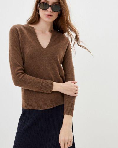 Коричневый пуловер Rodier