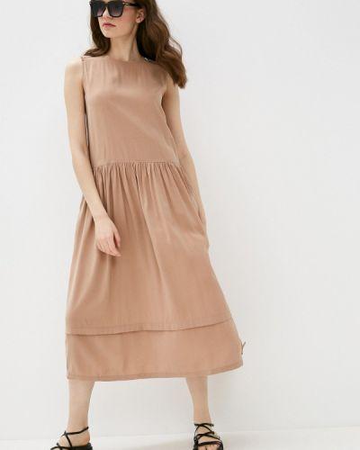 Коричневое повседневное платье Savage