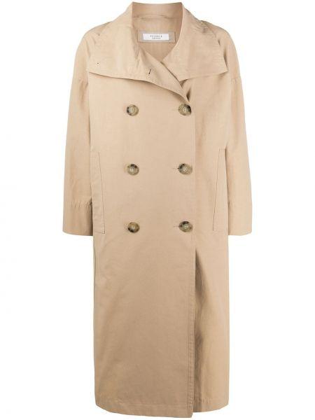 Длинное пальто на пуговицах Peserico
