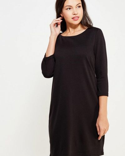 Платье осеннее черное Vila