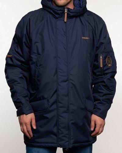 Куртка с капюшоном - синяя Normann
