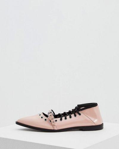 Розовые туфли для офиса Mcq Alexander Mcqueen
