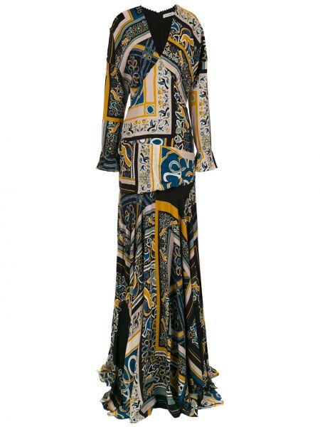 С рукавами черное платье на молнии из вискозы Martha Medeiros