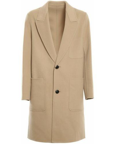 Beżowy płaszcz Ami Paris