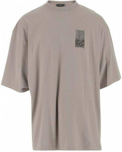 Szara t-shirt Balenciaga