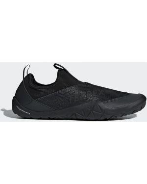 Резиновые тапочки - черные Adidas