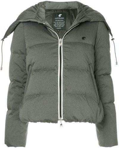 Дутая куртка на молнии с карманами Loveless