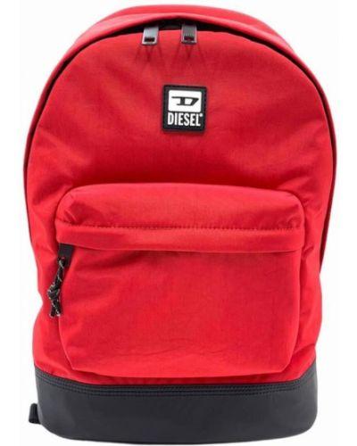 Czarny plecak sportowy Diesel