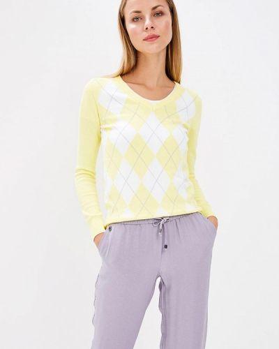 Желтый пуловер Baon