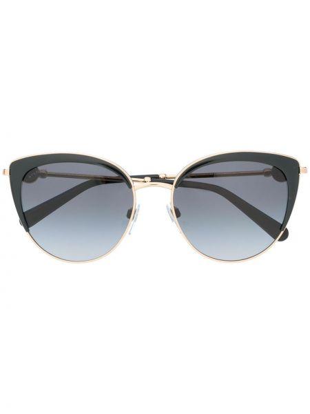 Черные солнцезащитные очки Bvlgari