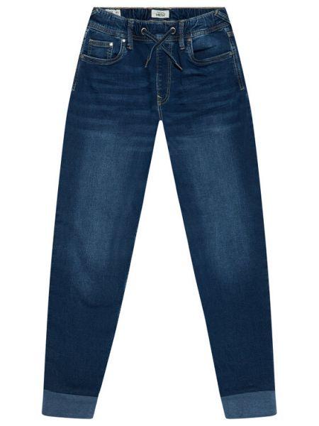 Jeansy granatowe Pepe Jeans