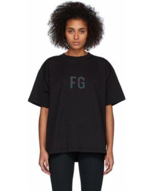 Koszula krótkie rękawy z łatami z kołnierzem Fear Of God