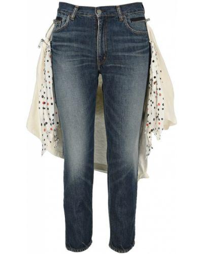 Niebieskie mom jeans Undercover