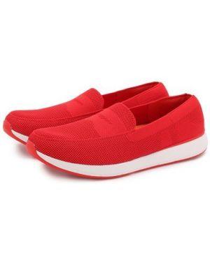 Красные текстильные слипоны Swims