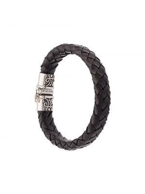 Bransoletka duży czarny Nialaya Jewelry