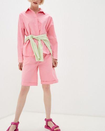 Костюмный розовый костюм Izabella
