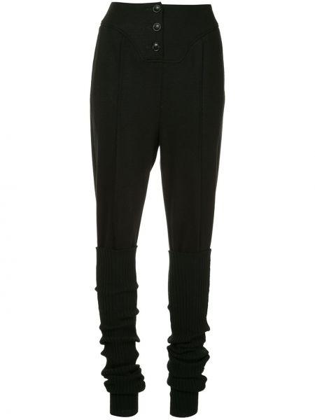Черные теплые брюки Muller Of Yoshiokubo