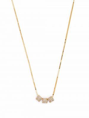 Złoty naszyjnik łańcuch Valentino Garavani