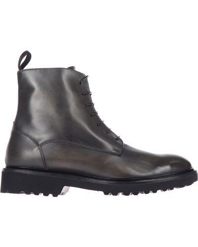 Кожаные ботинки - коричневые Doucal's