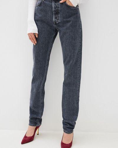 Прямые джинсы итальянский серые Helmut Lang