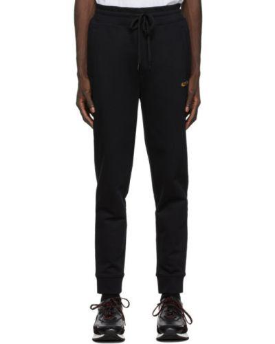 Черные брюки с карманами с манжетами Hugo