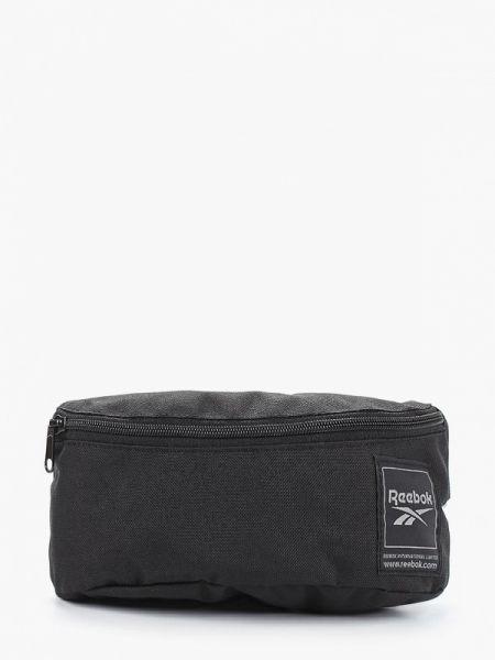 Черная поясная сумка с помпоном Reebok