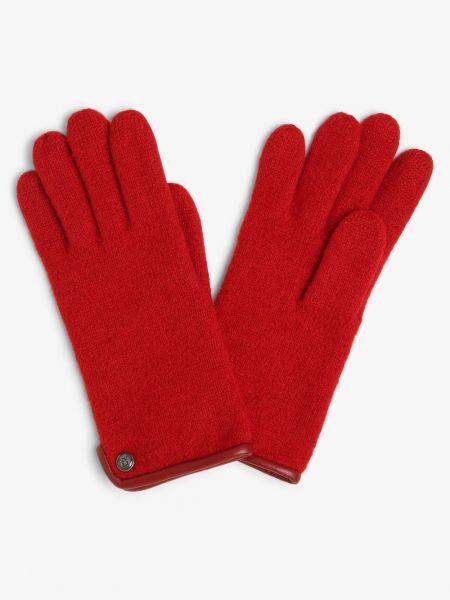 Czerwone rękawiczki Roeckl