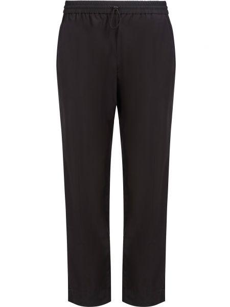 Хлопковые спортивные брюки - черные Kenzo