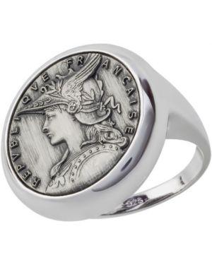Кольцо из серебра серый Style Avenue