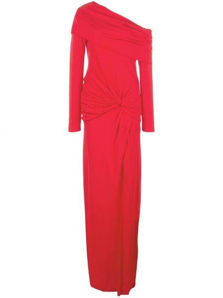 Вечернее платье длинное - красное Prabal Gurung