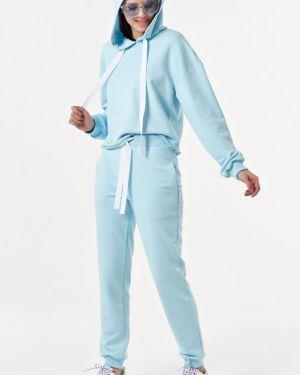 Брючный костюм из футера свободного кроя Fly