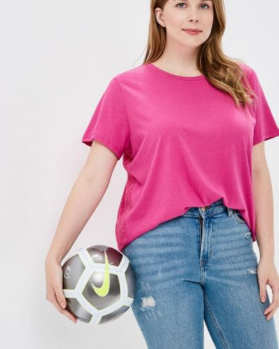 Розовая футболка Evans