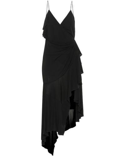 Платье миди на бретелях из вискозы Philosophy Di Lorenzo Serafini