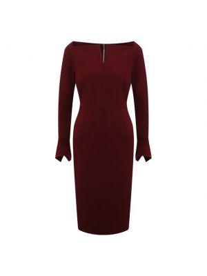 Платье из вискозы - красное Roland Mouret