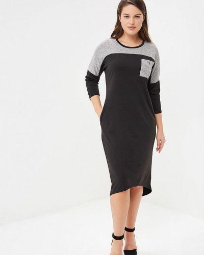Платье осеннее серое Sparada