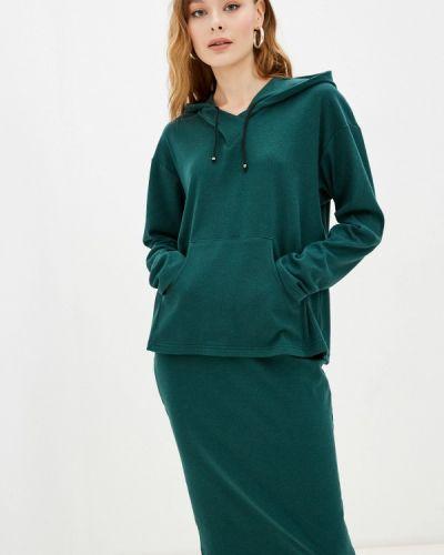 Зеленый костюм осенний Adzhedo