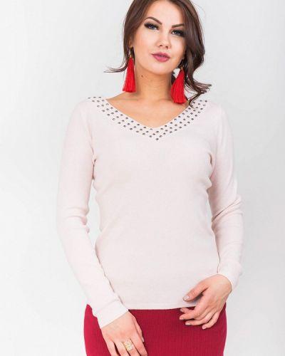 Розовый пуловер Olko