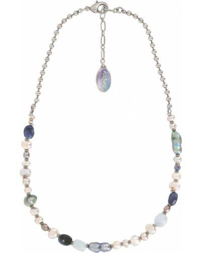 Ожерелье с жемчугом серое Nature Bijoux