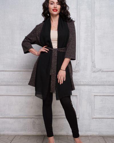 Блузка с поясом меланж Taiga